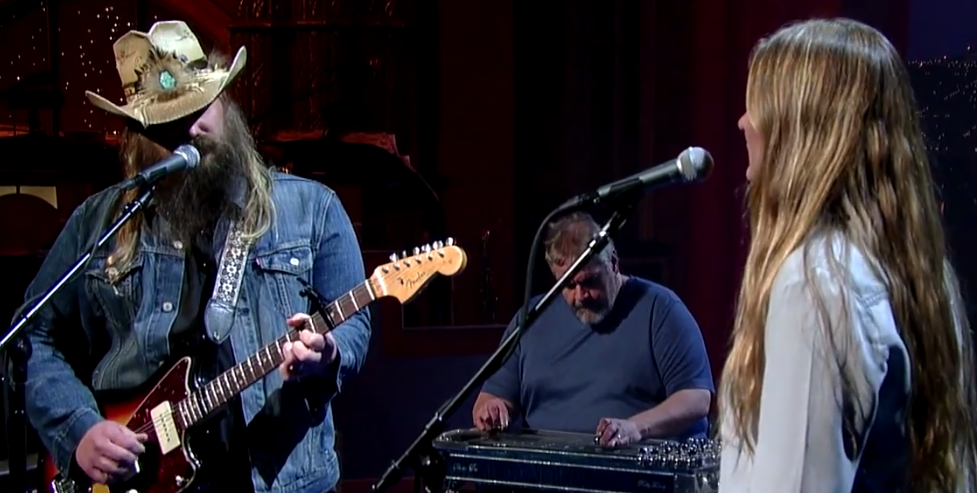 Chris Stapleton on David Letterman April 14