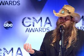 Chris Stapleton & CMA backdrop