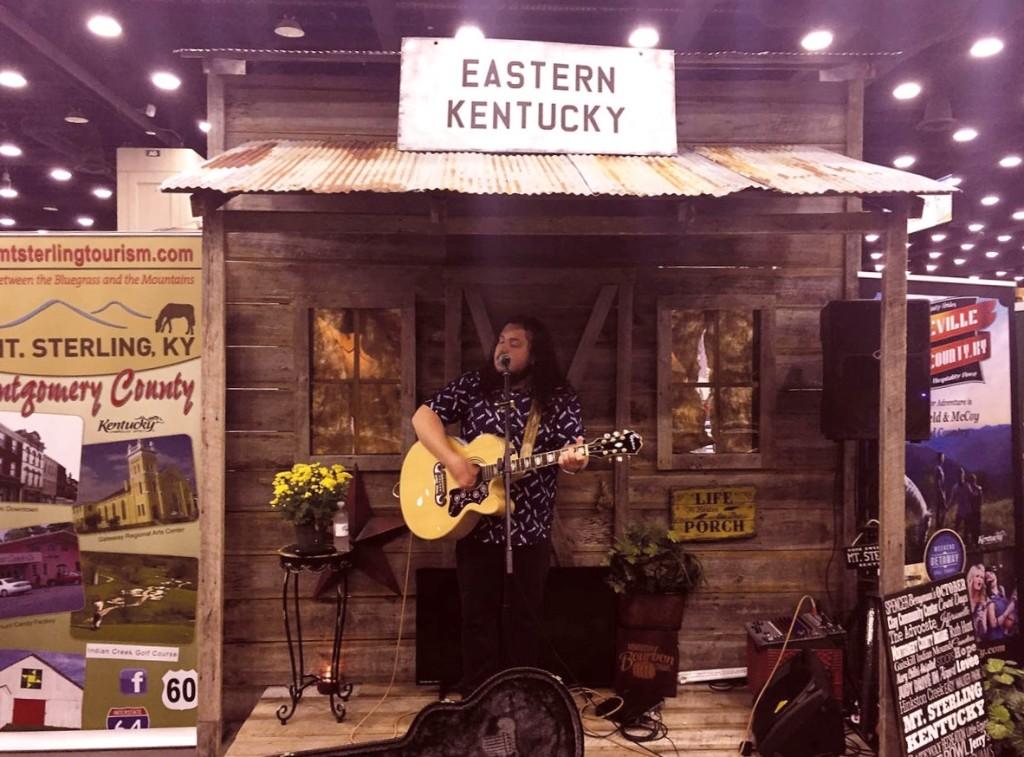 E Ky booth at Ky St. Fair